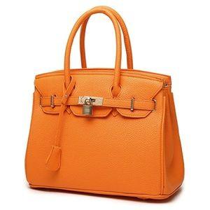 Large Doctors Bag - Orange